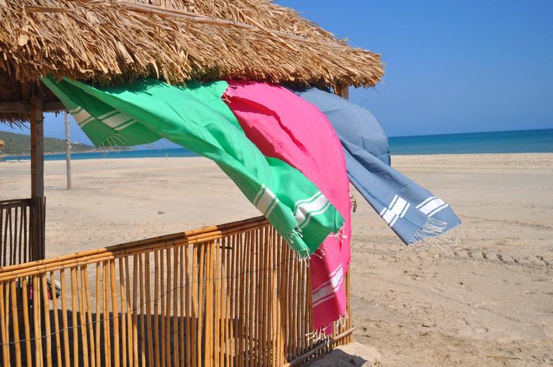 fouta serviettes foutas de plage 100 coton sajada fouta violette. Black Bedroom Furniture Sets. Home Design Ideas