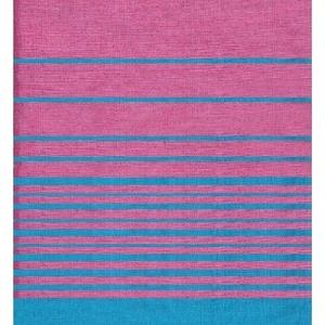 Fouta flamant rose